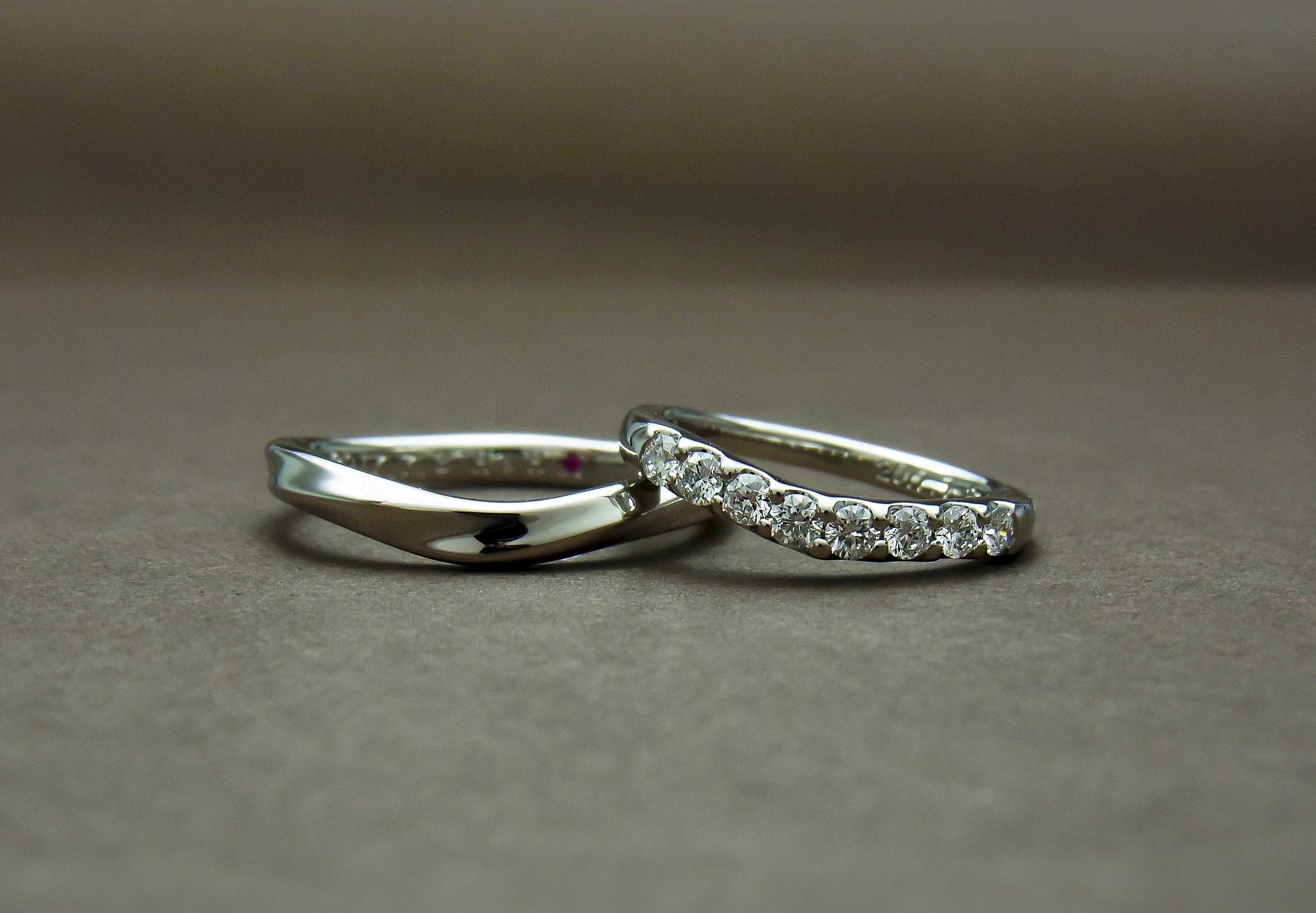 アイズストーン ダイヤモンドマリッジリング