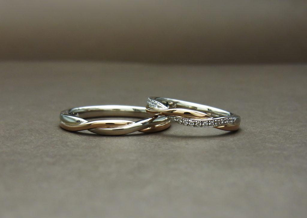 コンビリング 結婚指輪
