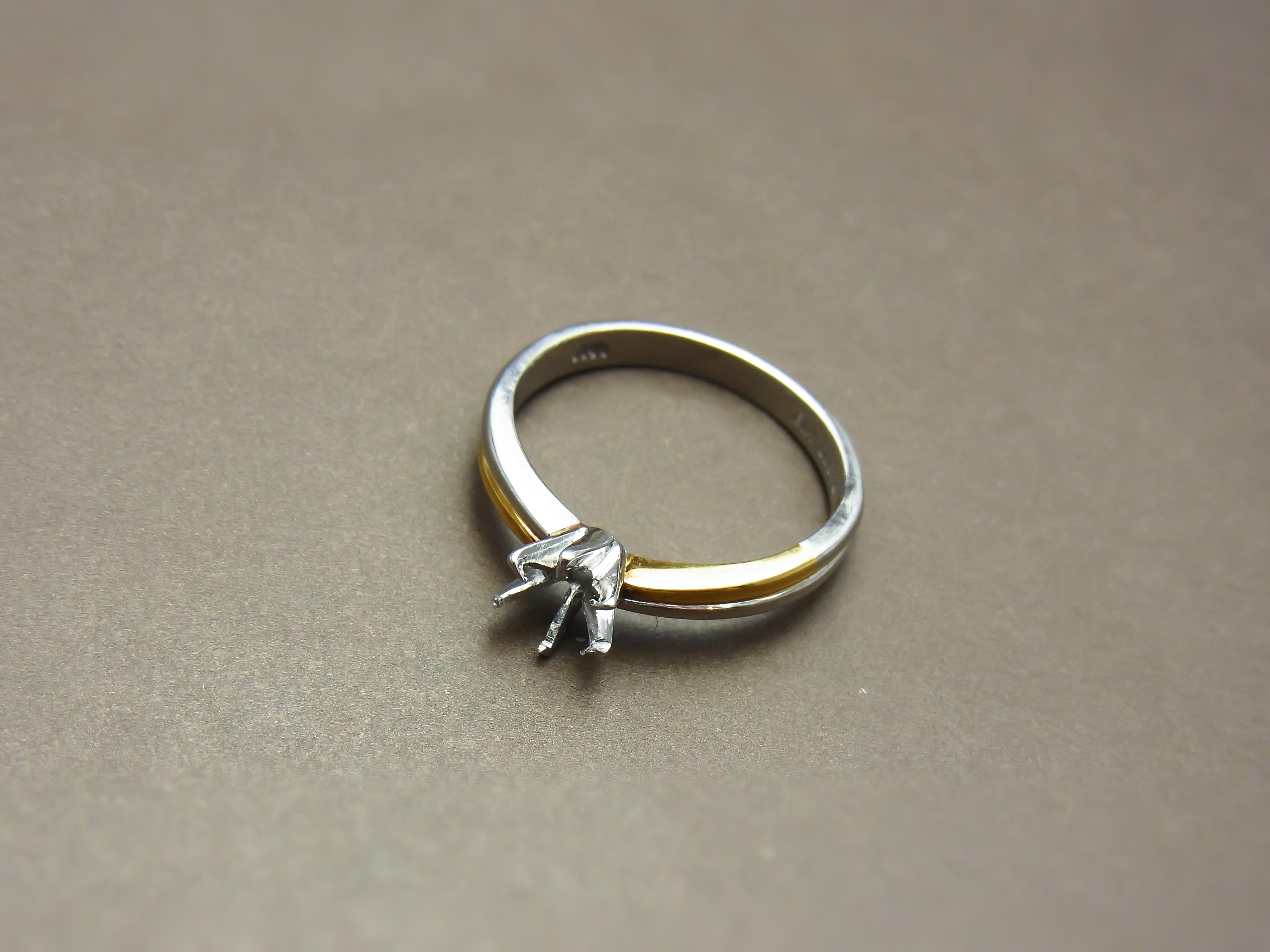 ダイヤを外したお母様のリング