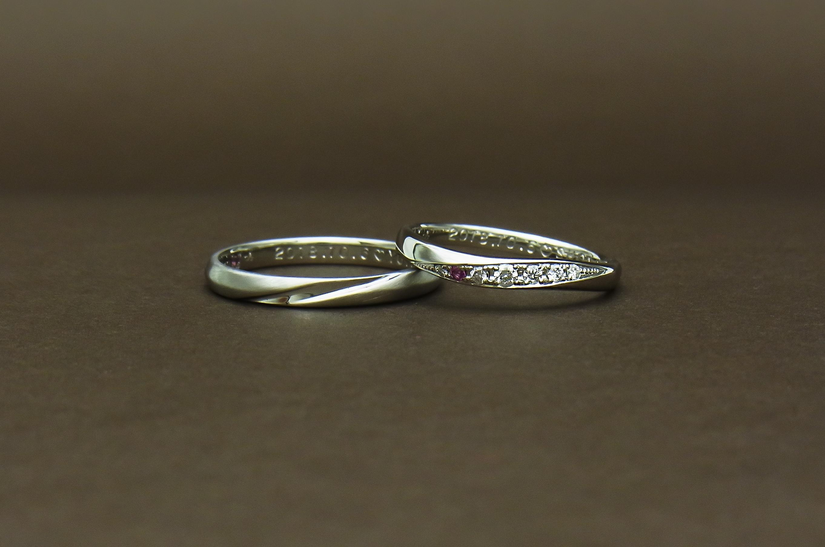 ダイヤモンド結婚指輪
