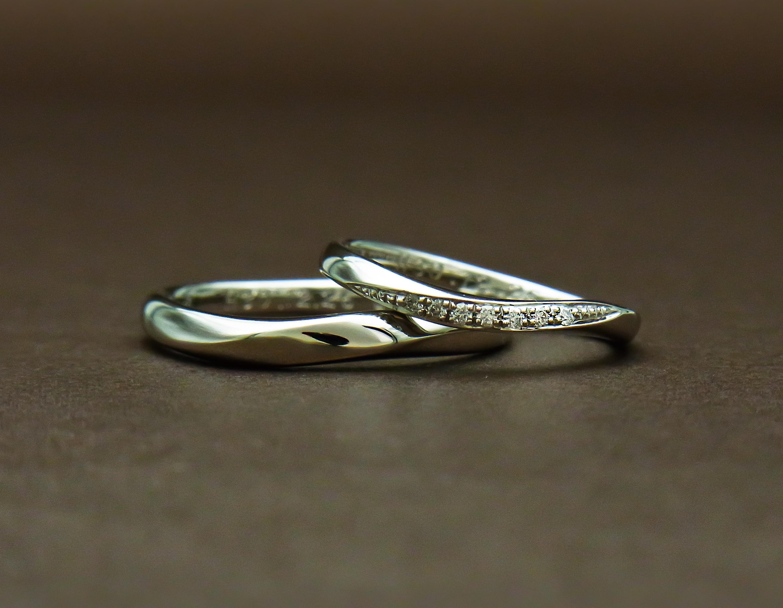 重ね付け結婚指輪